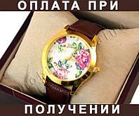 Женские часы GENEVA -- ЗОЛОТО, БЕЛЫЙ, фото 1