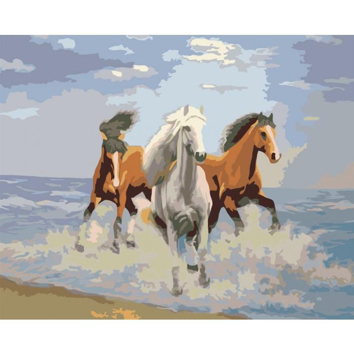 Картина по номерам Свежий ветер, 40x50 см., Идейка
