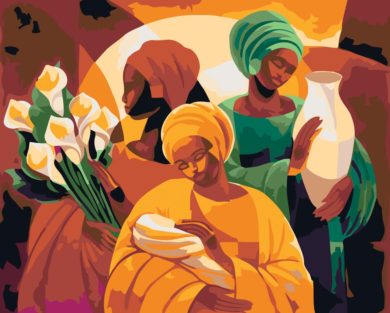 Картина по номерам Дары жизни , 40x50 см., Идейка