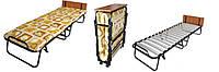 Раскладная кровать-тумба «Витязь» на цельных ламелях