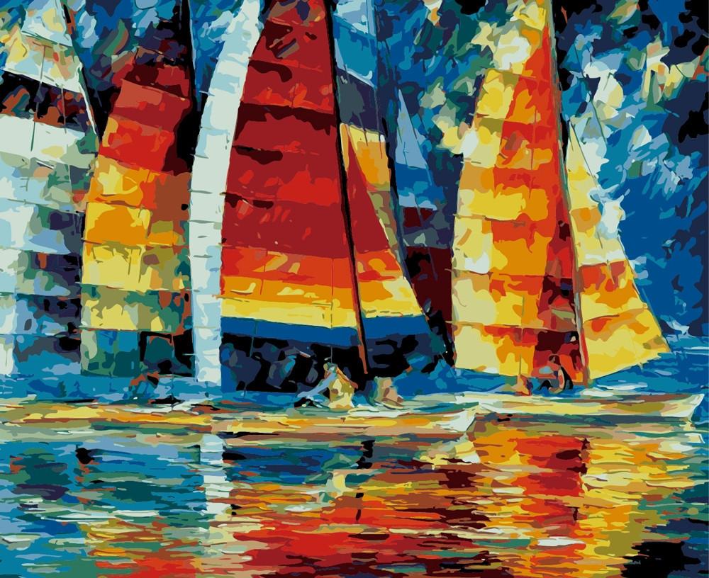 Картина по номерам Регата, 40x50 см., Идейка