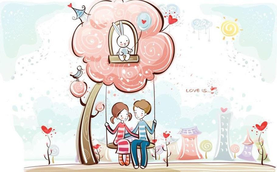Картина по номерам Счастливы вместе, 30x40 см., Идейка