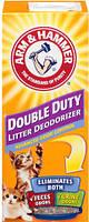 20500145 Arm & Hammer Double Duty Cat Litter Deodorizer Дезодорант-порошок, 850 гр