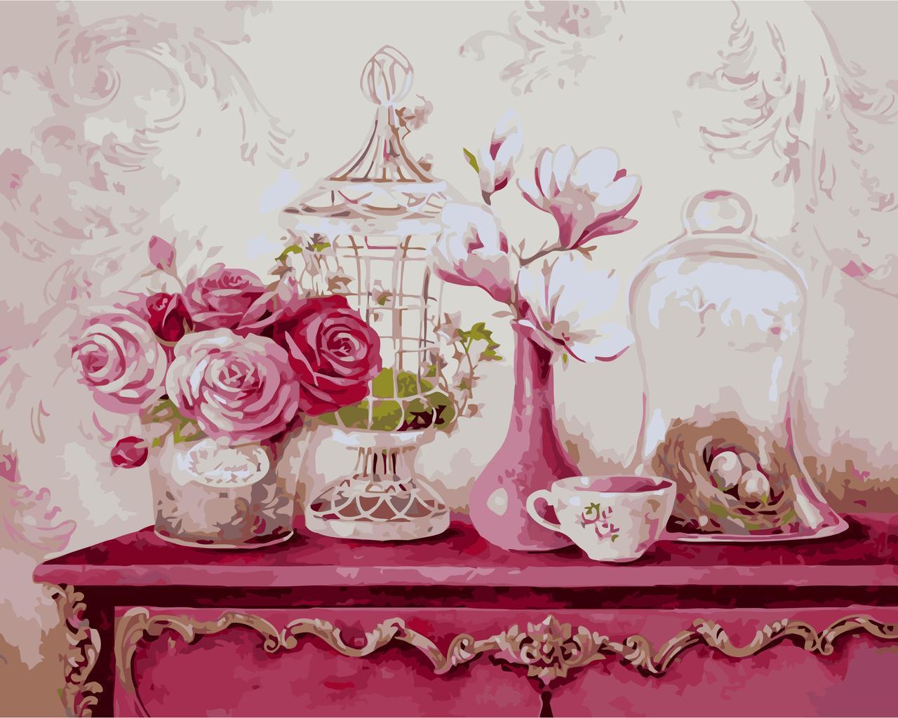 Картина по номерам Винтажный стиль, 30x40 см., Идейка