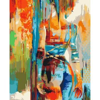 Картина по номерам Силуэт, 40x50 см., Идейка