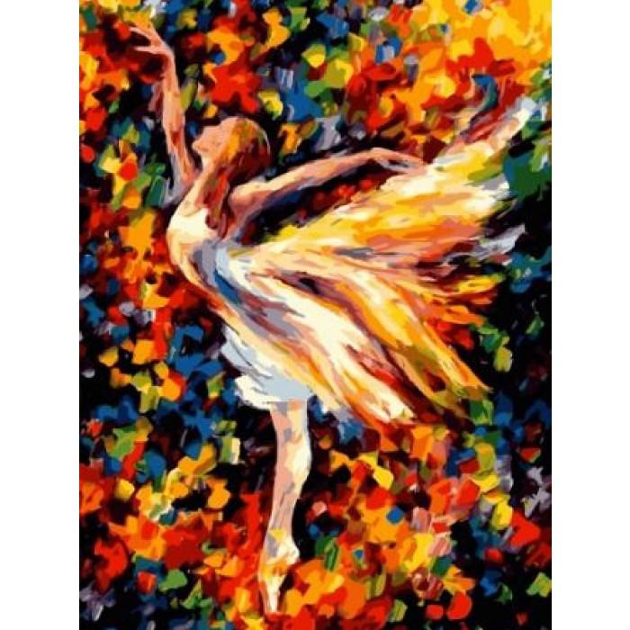 Картина по номерам Балерина, 40x50 см., Идейка