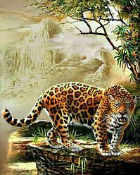 Алмазна вишивка Леопард