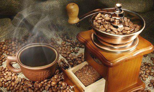 Алмазная вышивка Свежемолотый кофе 167