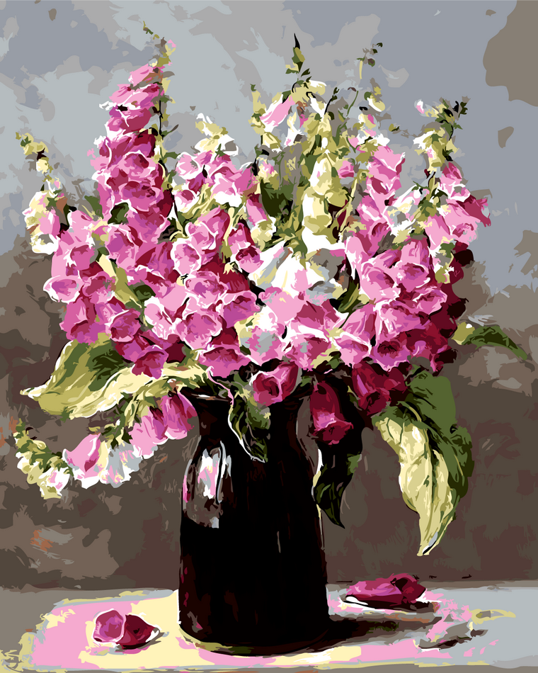 Картина по номерам Нежные колокольчики, 40x50 см., Art Story
