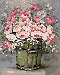 Картина по номерам Винтажный букет, 40x50 см., Art Story