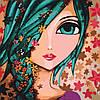 """Картина по номерам """"Цветочек"""", 40x40 см., Идейка"""