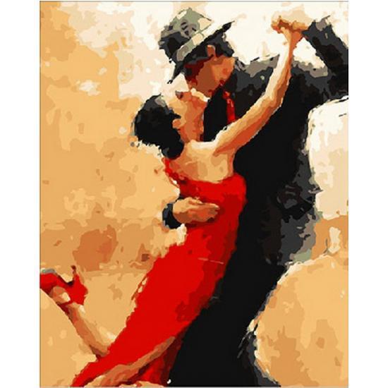Картина по номерам Магия танго. Худ Андре Кон, 40x50 см., Mariposa