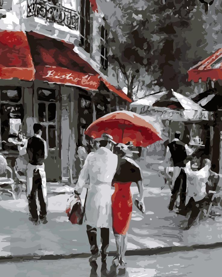 Картина по номерам Городские будни,  40x50 см, ArtStory