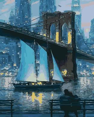 """Картина по номерам """"Город, который не спит"""",  40x50 см, ArtStory"""