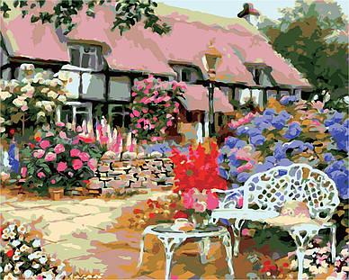 """Картина по номерам """"Загородный дом"""",  40x50 см, ArtStory"""