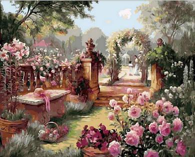 "Картина по номерам ""Райский сад. Худ. Бренда Берк"", 40x50 см., Mariposa Premium"