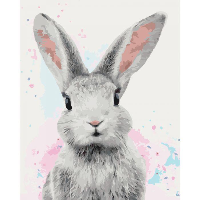 Картина по номерам Сахарный кролик, 40x50 см., Идейка