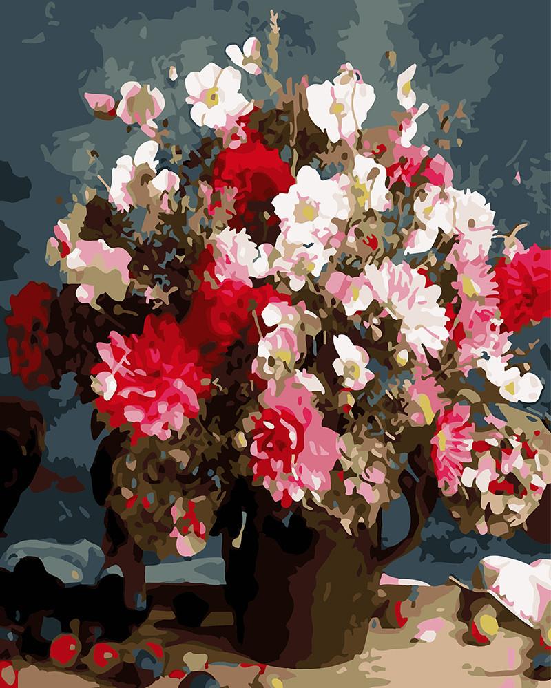 Картина по номерам Цветочное вдохновение, 40х50 см., Rainbow Art