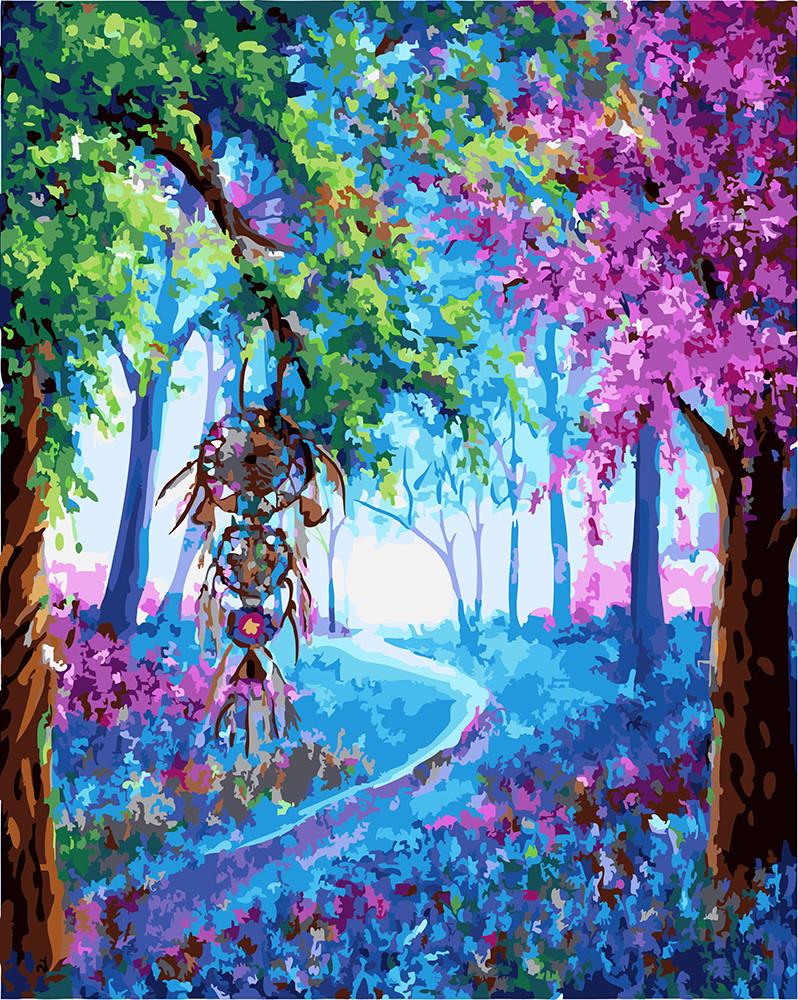 Картина по номерам Ловец снов, 40х50 см., Rainbow Art