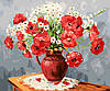 "Картина по номерам ""Полевые маки и ромашки"", 40х50 см., Rainbow Art"