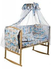 Наборы постельного белья в кроватку и колыбель