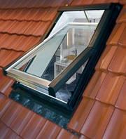 Центрально-поворотные окна 435H WD Эконом класса (Roto) 7х11 (с окладом)