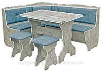 Кухонный уголок с простым столом Президент