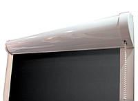 Рулонные шторы закрытого типа с плоскими направляющими