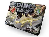 """Набор """"DINO PALEONTOLOGY"""" раскопки динозавров.  Паразауролоф+диметродон"""