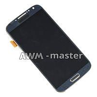 Дисплей Samsung i9500,Galaxy S4 с сенсором на рамке . черный TFT