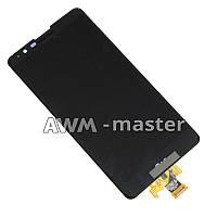 Дисплей LG LS775 с сенсором. черный Оригинал