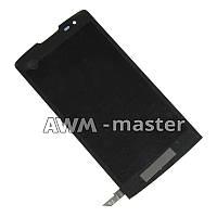 Дисплей LG LS665 с сенсором. черный Оригинал