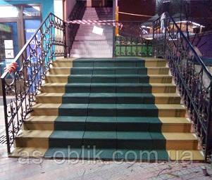 Гумові накладки на сходи