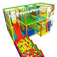 """Детская игровая комната лабиринт """"МАДАГАСКАР"""" 2х4 клетки, фото 1"""