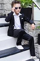Вельветовый школьный костюм на мальчика , фото 1