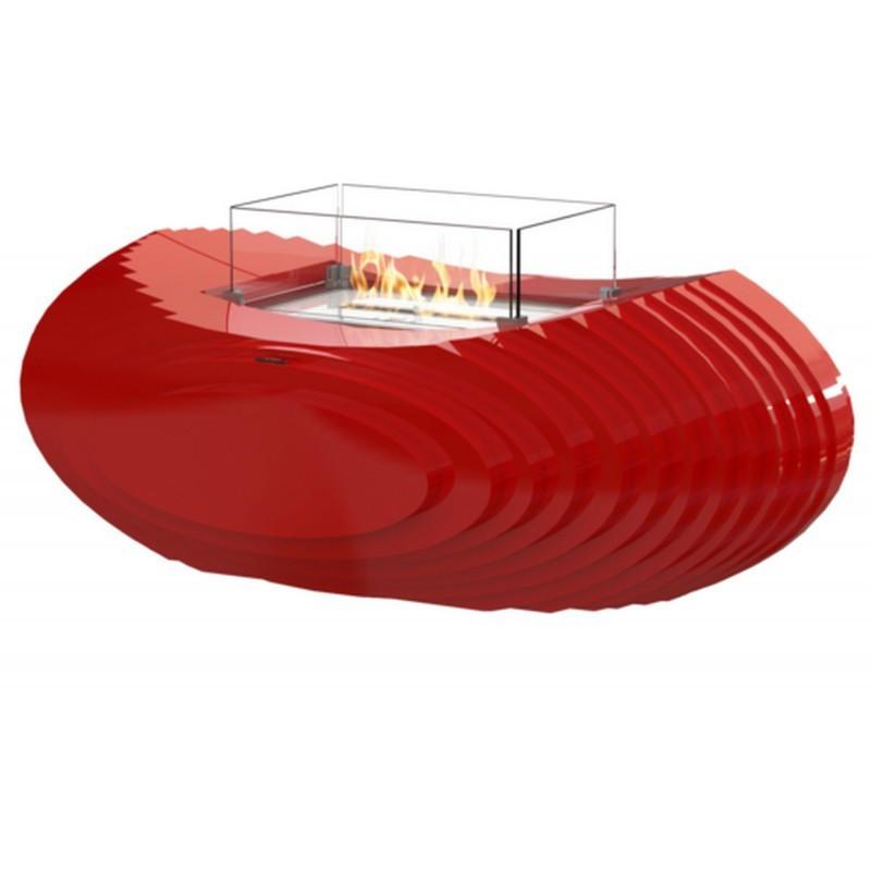 Биокамин Glamm Fire Baco II white/black/red