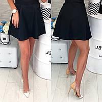 Юбка женская, модель 317, цвет - черный