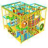 Аттракцион детский игровой центр лабиринт «Апельсинка», 4*4 клетки