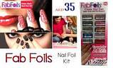 Прикраси для нігтів Fab Foils, фото 5