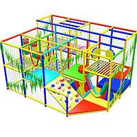 """Аттракцион детская игровая площадка лабиринт """"Тропикано"""", 3х4 клетки, фото 1"""