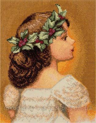 Набор для вышивания крестом Panna D-1514 Рождественское дитя