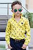 Рубашка на мальчиков Polo желтая