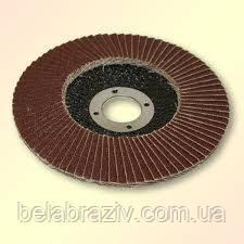 Круг шлифовальный торцевой, КЛТ 125х22, зернистость -Р60, БАЗ