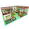 Аттракцион детская игровая площадка лабиринт «Капучино», 4*6 клетки