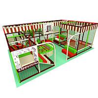 Аттракцион детская игровая площадка лабиринт «Капучино», 4*6 клетки, фото 1