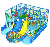 """Аттракцион детский игровой комплекс лабиринт """"Лагуна"""" 4х4 клетки, фото 1"""