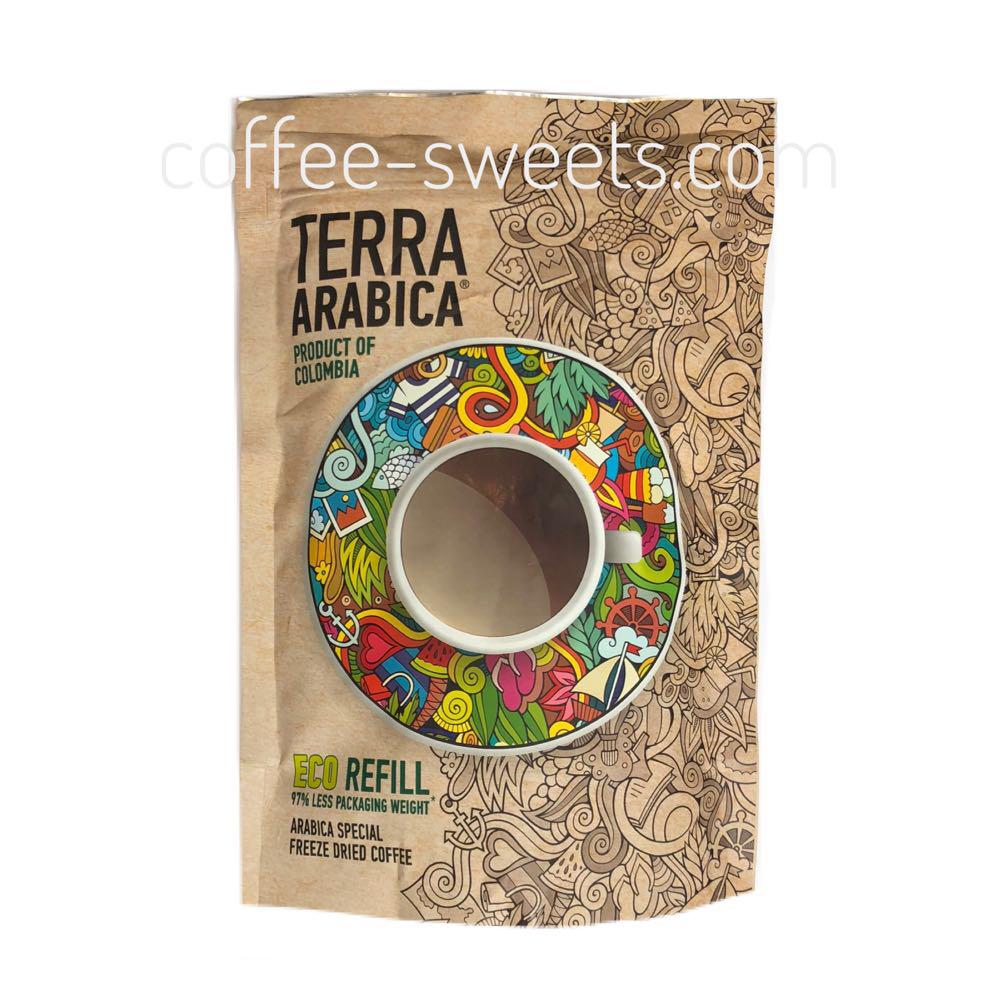 Кофе растворимый Terra Arabica Product of Colombia 95g