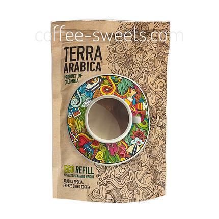 Кофе растворимый Terra Arabica Product of Colombia 95g, фото 2