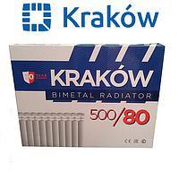 Биметаллический радиатор Krakow 500*80 эконом (Польша)