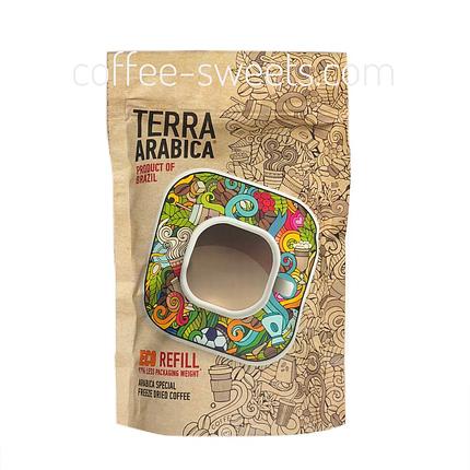 Кофе растворимый Terra Arabika product of Brazil 95g, фото 2